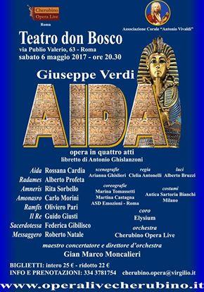 Aida Roma Teatro Don Bosco